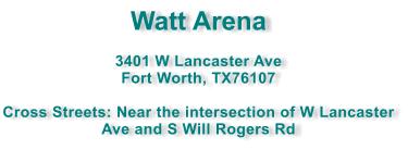WattArena-Address